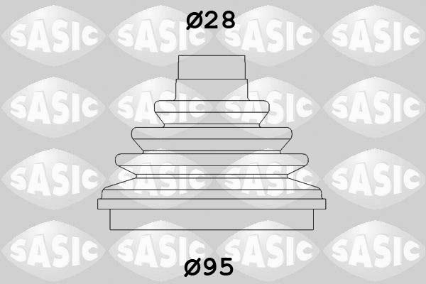 Пыльник ШРУСа SPIDAN арт. 2933003