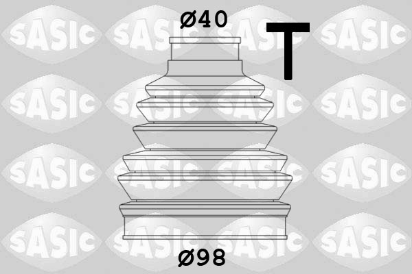 Пыльник ШРУСа SPIDAN арт. 2933023