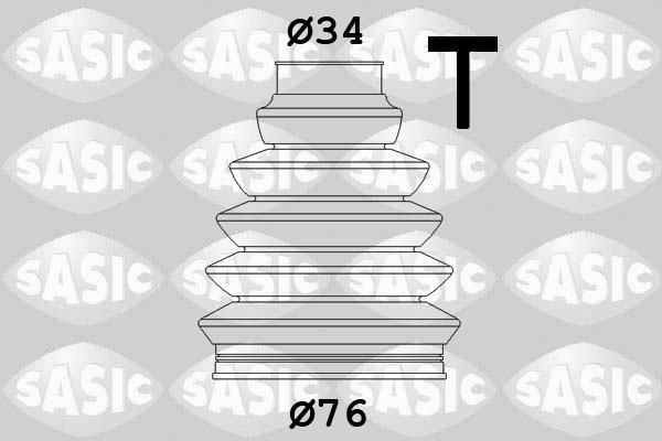Пыльник ШРУСа SPIDAN арт. 2933203