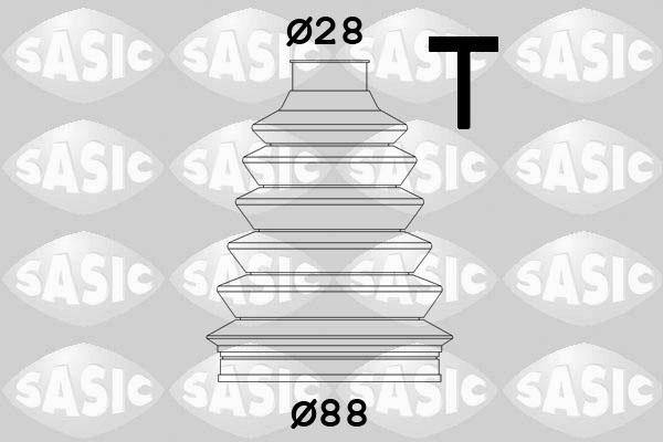 Пыльник ШРУСа SPIDAN арт. 4003455