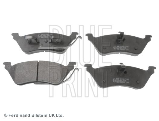 Тормозные колодки задние дисковые MINTEX арт. ADA104203