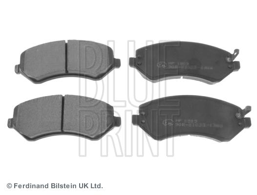 Тормозные колодки дисковые MINTEX арт. ADA104223