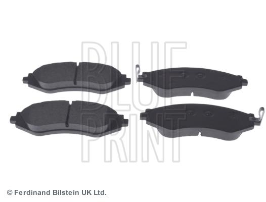 Тормозные колодки передние дисковые MINTEX арт. ADG04207