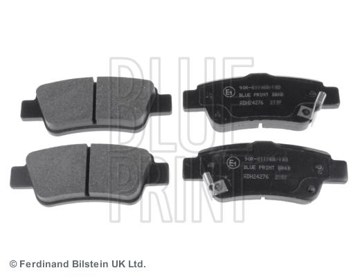 Тормозные колодки задние дисковые MINTEX арт. ADH24276