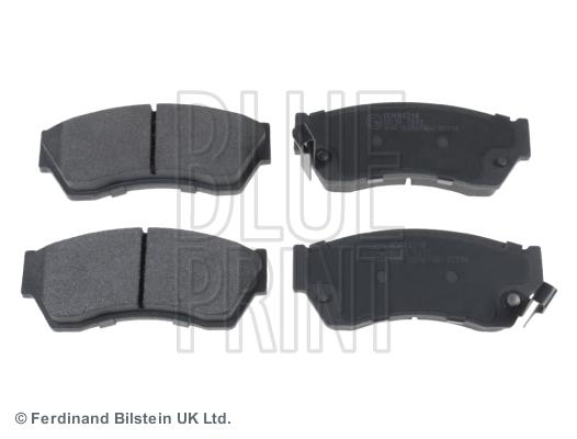 Тормозные колодки передние дисковые MINTEX арт. ADK84218