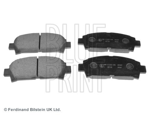 Тормозные колодки передние дисковые MINTEX арт. ADT342101