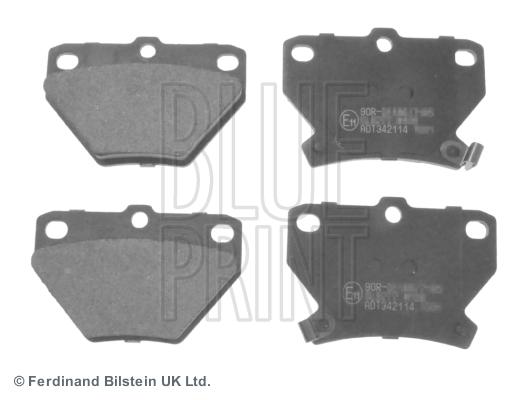 Тормозные колодки задние дисковые MINTEX арт. ADT342114