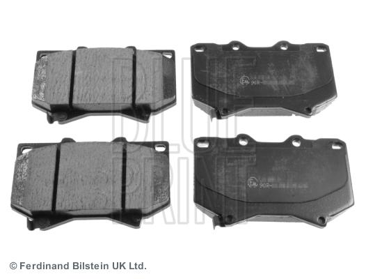 Тормозные колодки передние дисковые MINTEX арт. ADT342117