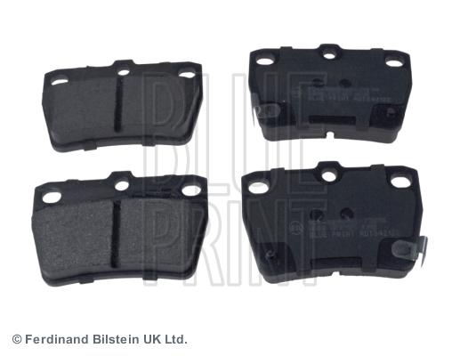 Тормозные колодки задние дисковые MINTEX арт. ADT342122