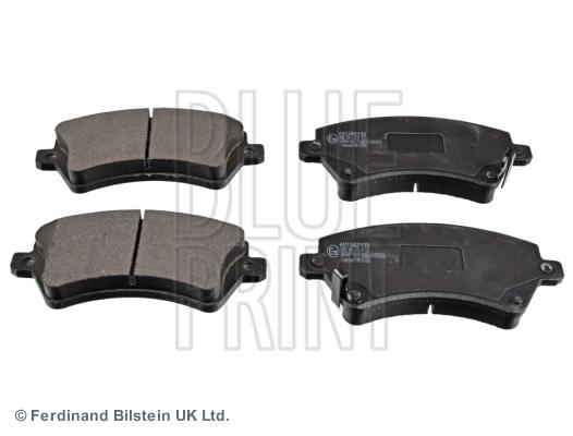 Тормозные колодки дисковые MINTEX арт. ADT342133