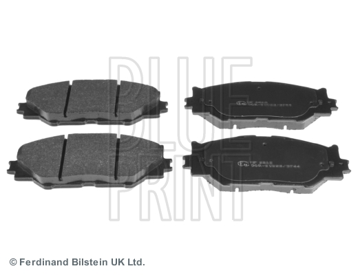 Тормозные колодки дисковые MINTEX арт. ADT342163