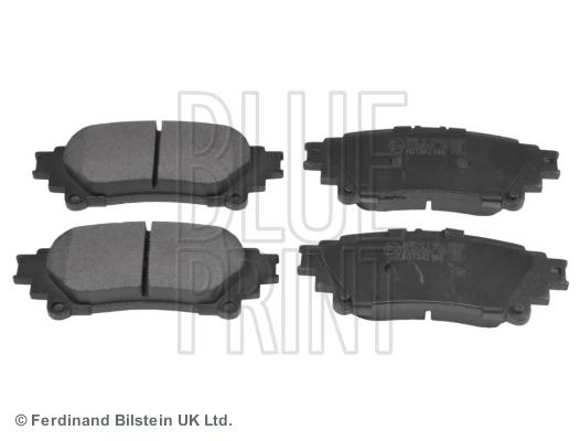 Тормозные колодки дисковые MINTEX арт. ADT342186