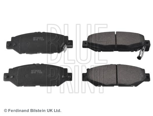 Тормозные колодки дисковые MINTEX арт. ADT34263