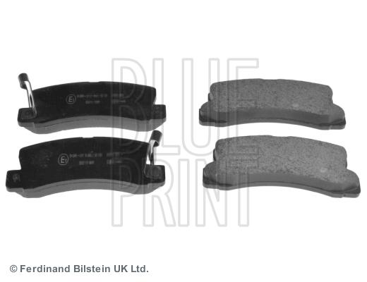 Тормозные колодки задние дисковые MINTEX арт. ADT34284