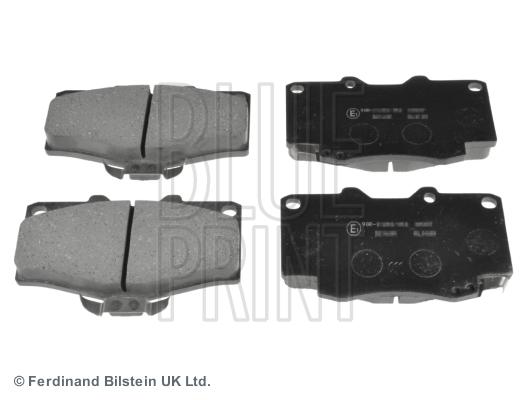 Тормозные колодки передние дисковые MINTEX арт. ADT34289