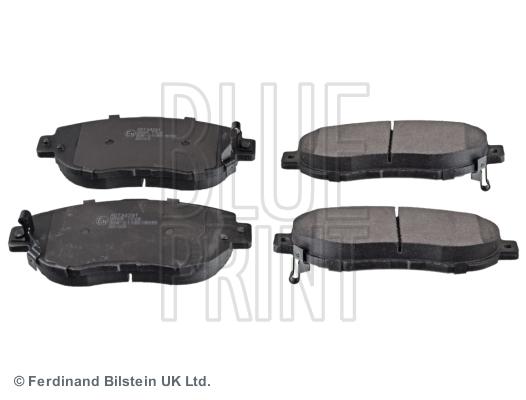 Тормозные колодки передние дисковые MINTEX арт. ADT34291