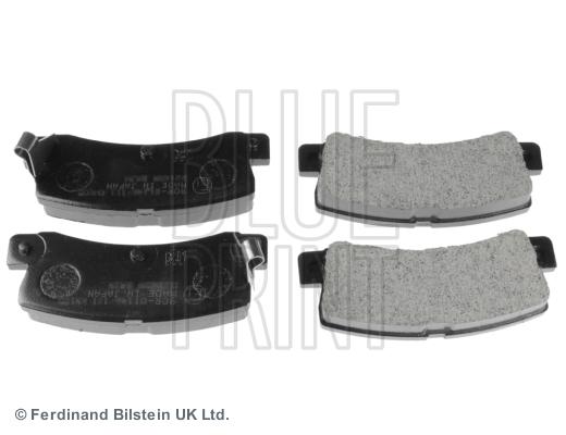 Тормозные колодки дисковые MINTEX арт. ADT34293