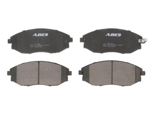 Тормозные колодки передние дисковые MINTEX арт. C10021ABE