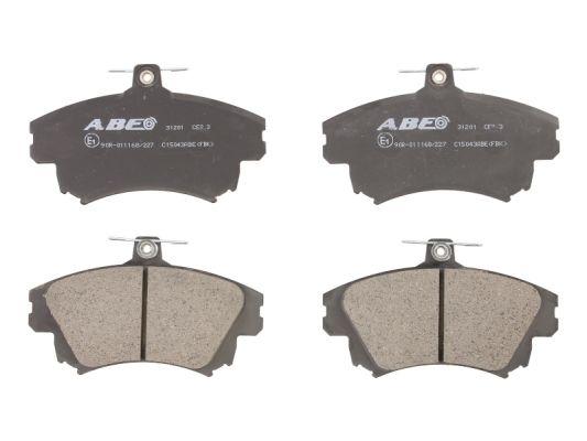Тормозные колодки дисковые MINTEX арт. C15043ABE