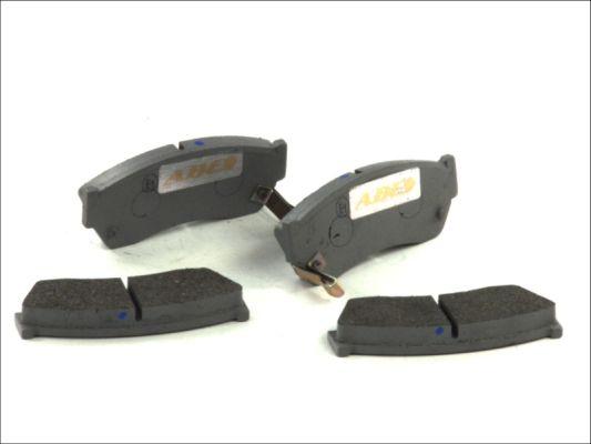 Тормозные колодки передние дисковые MINTEX арт. C18005ABE