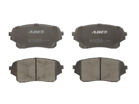 Тормозные колодки дисковые MINTEX арт. C18022ABE