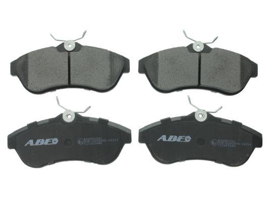 Тормозные колодки передние дисковые MINTEX арт. C1C063ABE