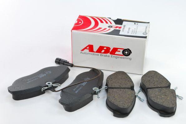 Тормозные колодки передние дисковые MINTEX арт. C1F041ABE