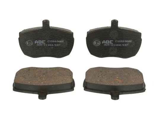 Тормозные колодки передние дисковые MINTEX арт. C1G009ABE