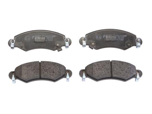 Тормозные колодки передние дисковые MINTEX арт. C1X021ABE
