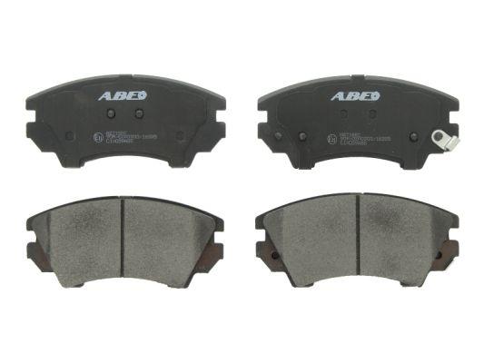 Тормозные колодки передние дисковые MINTEX арт. C1X039ABE