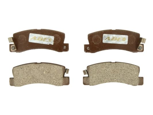 Тормозные колодки задние дисковые MINTEX арт. C22005ABE