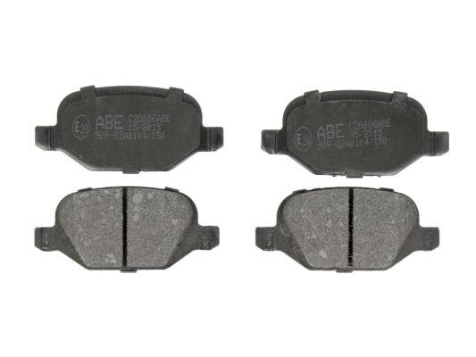 Тормозные колодки задние дисковые MINTEX арт. C2D006ABE