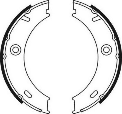 Колодки тормозные барабанные MINTEX арт. CRM003ABE