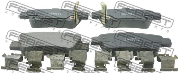Тормозные колодки дисковые MINTEX арт. 0301-RER