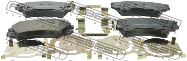 Тормозные колодки дисковые MINTEX арт. 1801-ZAFCF
