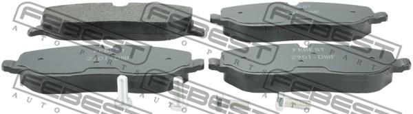 Тормозные колодки дисковые MINTEX арт. 2901-DIIIF