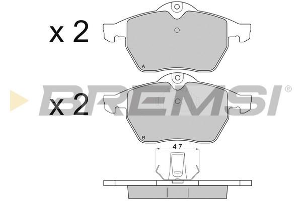 Тормозные колодки дисковые MINTEX арт. BP2692
