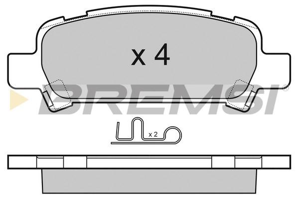 Тормозные колодки дисковые MINTEX арт. BP3056