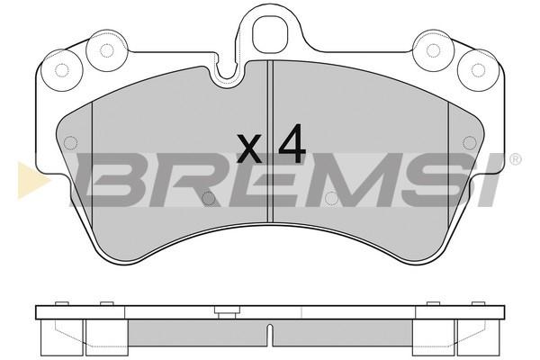 Тормозные колодки передние дисковые MINTEX арт. BP3099