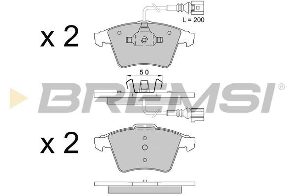 Тормозные колодки передние дисковые MINTEX арт. BP3508