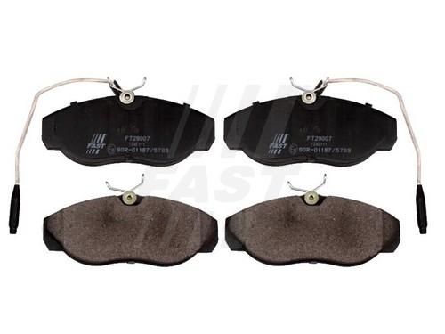 Тормозные колодки дисковые MINTEX арт. FT29007