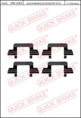 Ремкомплект тормозных колодок MINTEX арт. 1091243