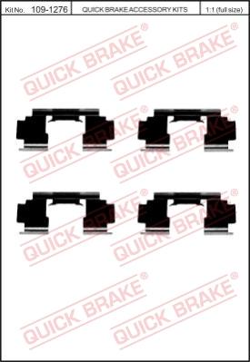 Ремкомплект тормозных колодок MINTEX арт. 1091276