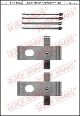 Ремкомплект тормозных колодок MINTEX арт. 1091634