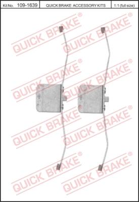 Ремкомплект тормозных колодок MINTEX арт. 1091639