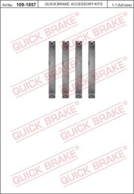Ремкомплект тормозных колодок MINTEX арт. 1091857