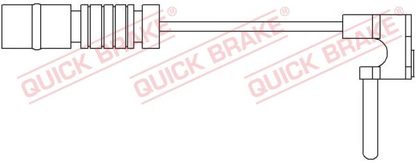 Датчик износа тормозных колодок MINTEX арт. WS 0171 A