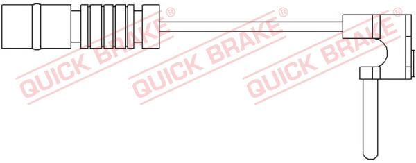 Датчик износа тормозных колодок MINTEX арт. WS 0172 A