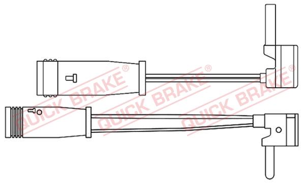 Датчик износа тормозных колодок MINTEX арт. WS 0214 A