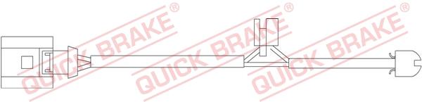 Датчик износа тормозных колодок MINTEX арт. WS 0226 A
